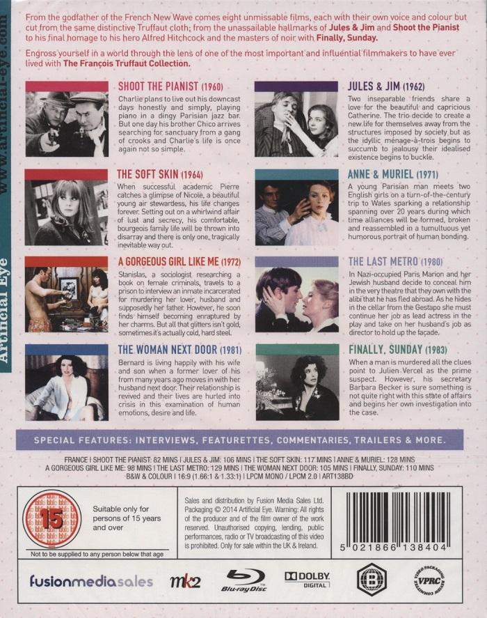 050926185899 François Truffaut Collection (ej svensk text) (Blu-ray) - Kvarnvideo.se