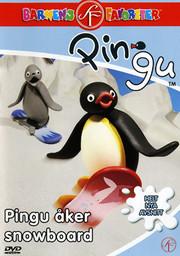 Pingu - Pingu Åker Snowboard