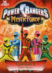 Power Rangers Mystic Force - Volym 2 Fire Heart