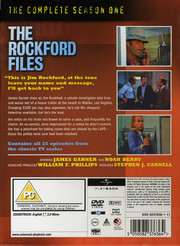 Rockford Files - Season 1 (ej svensk text)