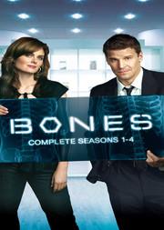 Bones - Säsong 1-4 (20-disc)