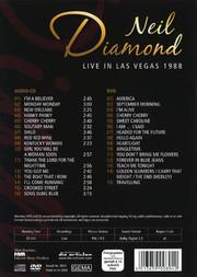 Neil Diamond - Live In Las Vegas (DVD + CD)