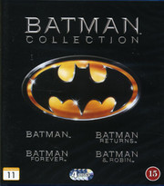 Batman Collection 1989-1997 (4-disc) (Blu-ray)