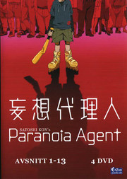 Paranoia Agent - Avsnitt 1-13 (4-disc)