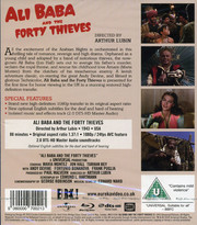 Ali Baba And the Forty Thieves (ej svensk text) (Blu-ray)