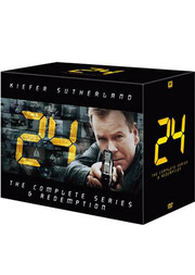 24 - Hela Serien + 24 - Redemption (54-disc)