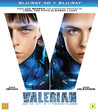 Valerian and the city of a thousand planets (Real 3D + Blu-ray)