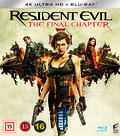 Resident Evil: Final Chapter (4K Ultra HD Blu-ray)