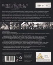 The Roberto Rossellini & Ingrid Bergman Collection (Limited Edition Numbered) (ej svensk text) (Blu-ray)