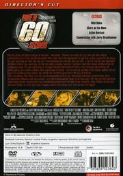 Gone In 60 Seconds - Director's Cut (Begagnad)
