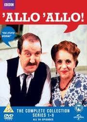 'Allo 'Allo! - Complete Series (16-disc) (ej svensk text)