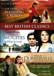 Far From the Madding Crowd / A Tale of Two Cities / Tess Av D'Urberville (BBC) (3-disc)