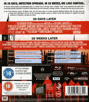 28 Days Later + 28 Weeks Later (ej svensk text 28 Days Later) (Blu-ray)