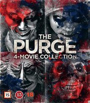 Purge 4-Movie Collection (4-disc) (Blu-ray)