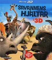 Savannens Hjältar (Real 3D + Blu-ray)