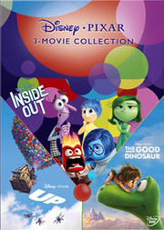 Disney Pixar 3 Movie Collection