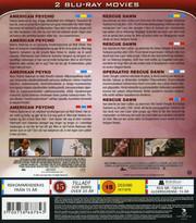American Psycho / Rescue Dawn (2-disc) (Blu-ray)