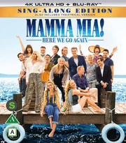 Mamma Mia! Here We Go Again (4K Ultra HD Blu-ray)