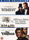 First Great Train Robbery / Those Magnificent Men In Their Flying Machines (ej svensk text) / The Vikings