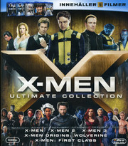 X-Men Ultimate Collection (5-disc) (Blu-ray) (Begagnad)