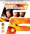 Fast & Furious 5 (4K Ultra HD Blu-ray + Blu-ray)