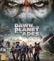 Apornas Planet - Uppgörelsen (Blu-ray) (Begagnad)