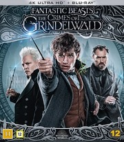 Fantastiska Vidunder: Grindelwalds Brott (4K Ultra HD Blu-ray)