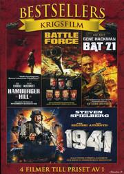 Bestsellers - Krigsfilm (4-disc)