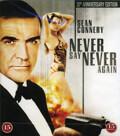 Never Say Never Again (Blu-ray) (Begagnad)