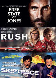 Free State of Jones / Rush / Skiptrace