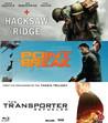Hacksaw Ridge / Point Break / Transporter Refueled (Blu-ray)