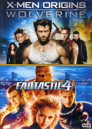 X-Men Origins: Wolverine / Fantastic 4 (2-disc)