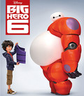 Big Hero 6 (Real 3D + Blu-ray) (Begagnad)