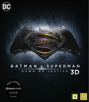 Batman v Superman - Dawn of Justice (Real 3D + Blu-ray) (Begagnad)