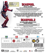 Deadpool 1+2  (Blu-ray)