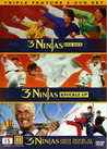 3 Ninjas Kick Back / 3 Ninjas Knuckle Up / 3 Ninjas - High Noon At Mega Mountain (3-disc) (Begagnad)